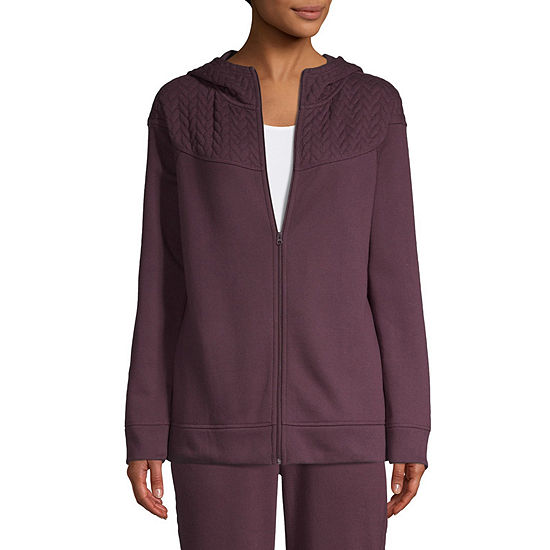 St Johns Bay Active Quilted Fleece Jacket