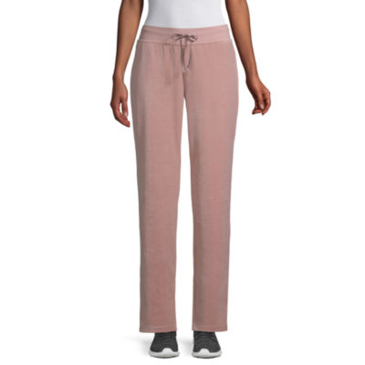 St. John's Bay Active Relaxed Fit Velour Pull-On Pants
