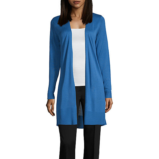 c768879392c8 Worthington Womens Long Sleeve Open Front Cardigan - JCPenney