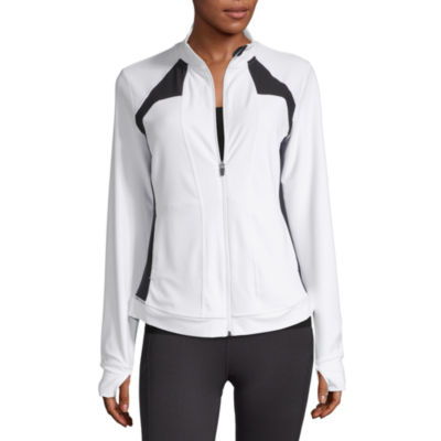Xersion Womens Mock Neck Long Sleeve Sweatshirt