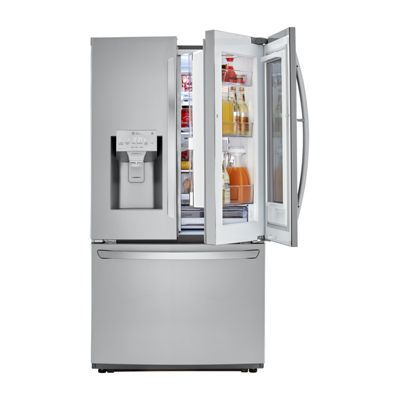 LG 26 cu. ft. Smart wi-fi Enabled InstaView™ Door-in-Door Refrigerator