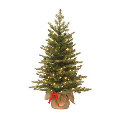 National Tree Co. 3 Foot Nordic Spruce Spruce Pre-Lit Christmas Tree