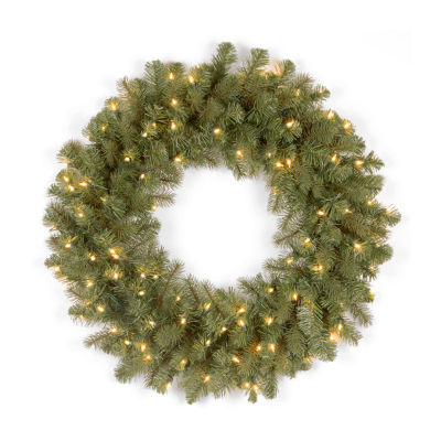 National Tree Co. Downswept Douglas Feel Real Indoor/Outdoor Christmas Wreath