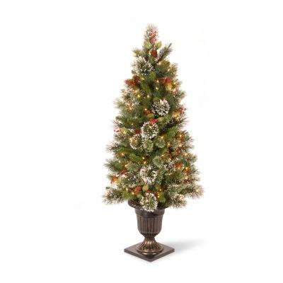 National Tree Co. 4 Foot Pine Pre-Lit Christmas Tree