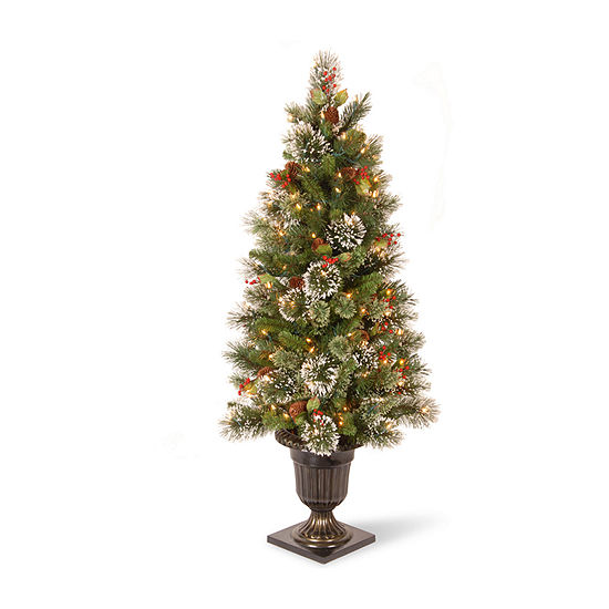 Jc Penney Christmas Trees: National Tree Co. 4 Foot Pine Pre-Lit Christmas Tree