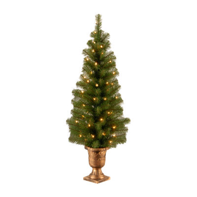 National Tree Co. 4 Foot Spruce Pre-Lit Christmas Tree