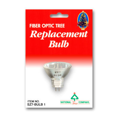 National Tree Co. Fiber Optic 6 Volt 5 Watt Clear Indoor Replacement Light