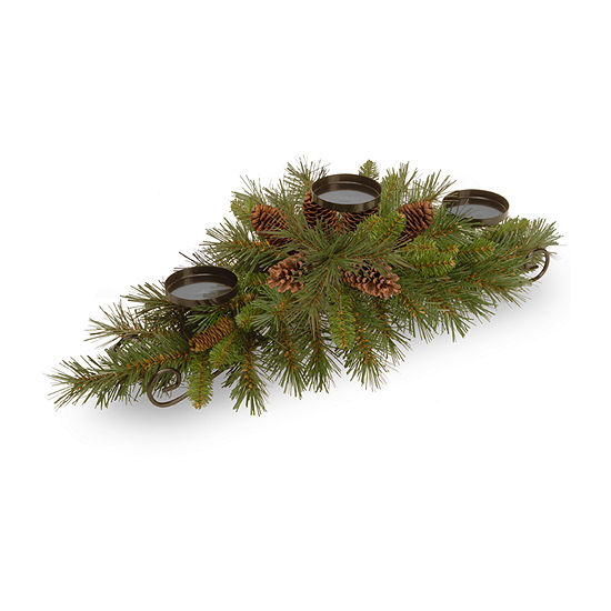 National Tree Co 30 Pine Centerpiece Christmas Garland