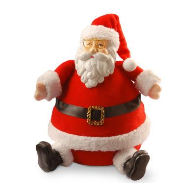 "National Tree Co. 13"" Resin Santa Figurine"
