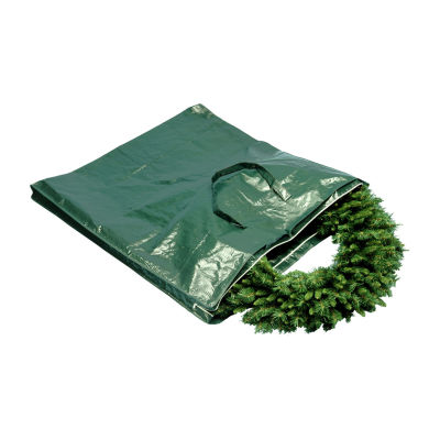 National Tree Co. Wreath And Garland With Handles And Zippers Wreath Storage Bag
