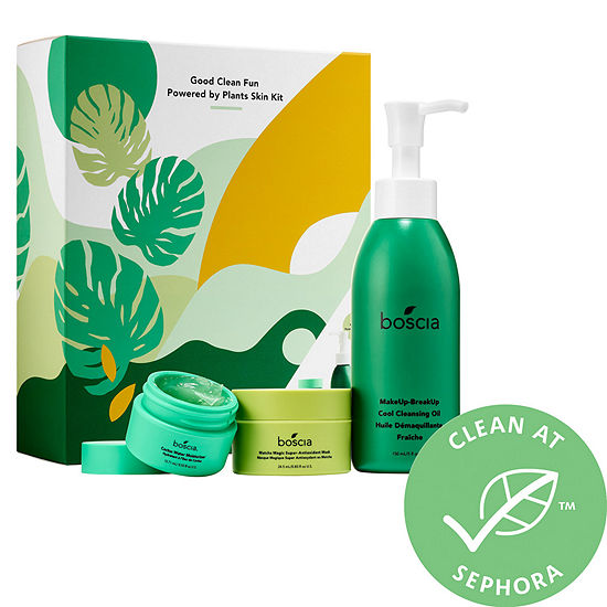 boscia Good Clean Fun - Powered by Plants Skin Kit