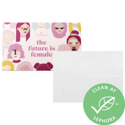 boscia The Future is Female Peppermint Blotting Linens