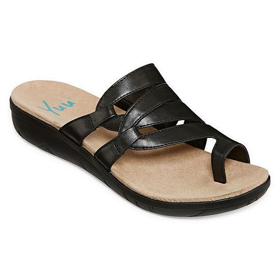 Yuu Womens Julia Slide Sandals