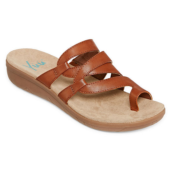 Yuu Womens Julia Slide Sandals