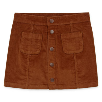 Peyton & Parker Corduroy Button Front Skirt - Girls' 6-16
