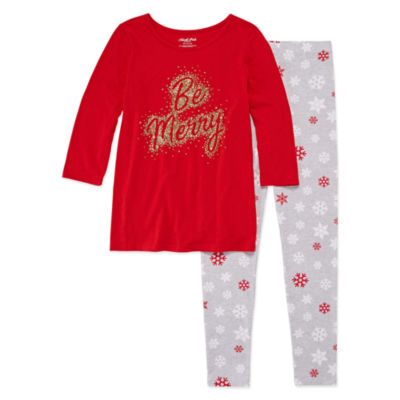 North Pole Holiday Legging Set - Girls' 4-16 & Plus