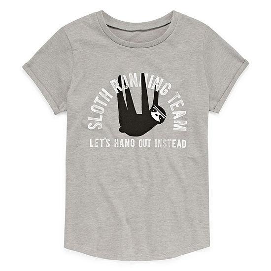 Arizona Cuff Sleeve Graphic Tee - Girls' 4-16 & Plus