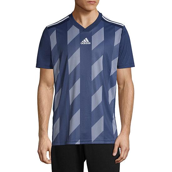 adidas Mens Crew Neck Short Sleeve Jersey