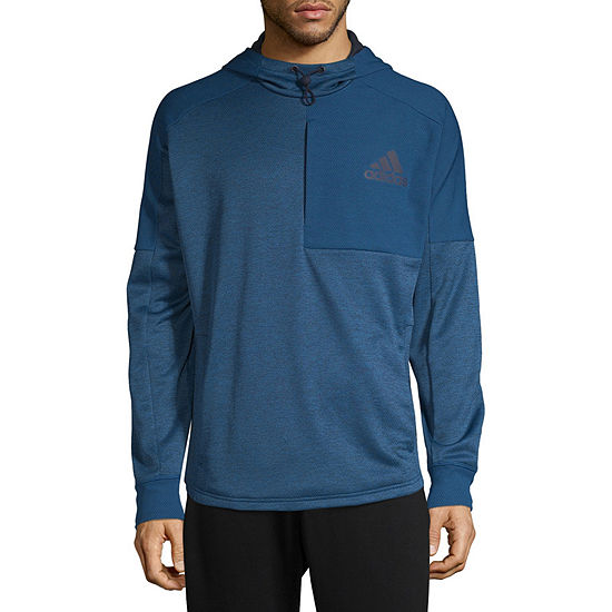 adidas Mens Lightweight Fleece Hoodie