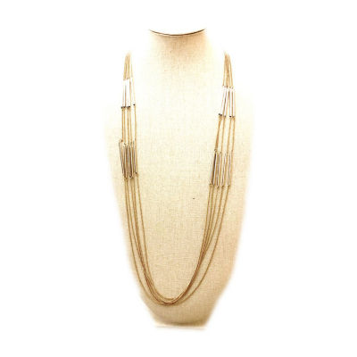 Arizona 40 Inch Semisolid Curb Chain Necklace
