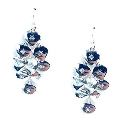 Arizona Gray Drop Earrings