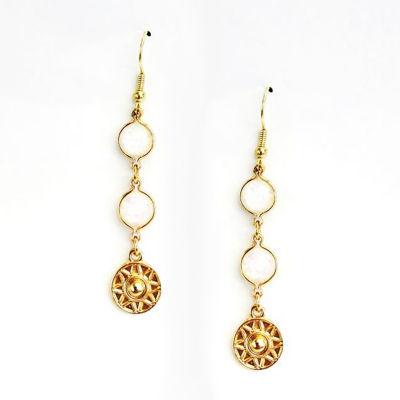 Arizona Yellow Drop Earrings