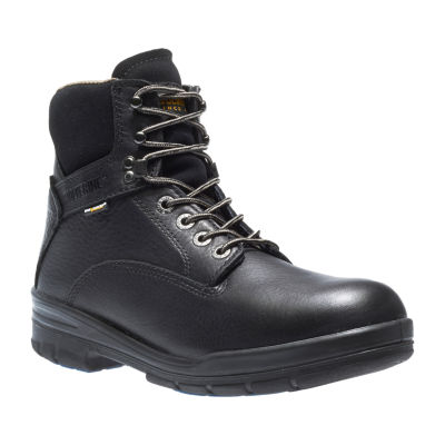 Wolverine Mens Durashocks Slip Resistant Lace-up Work Boots