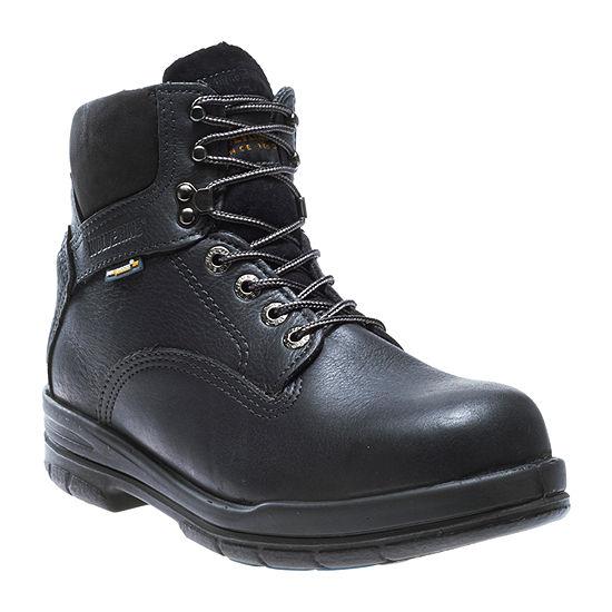 Wolverine Mens Durashocks Slip Resistant Steel Toe  Lace-up Work Boots