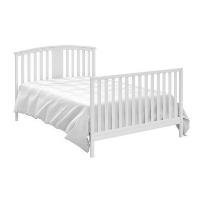 Storkcraft Greyson Crib & Changer - White