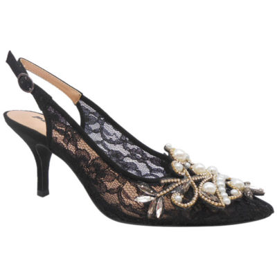 Palizzio Calafell Womens Pumps Buckle Pointed Toe Stiletto Heel
