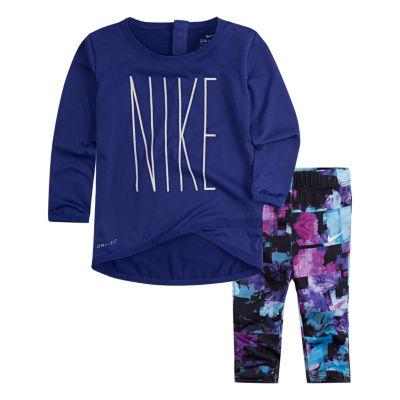 Nike 2-pc. Legging Set-Toddler Girls