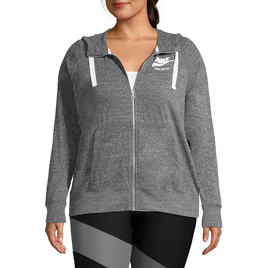 Nike® Women's Gym Vintage Full Zip - Plus