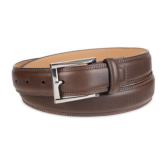 Stafford® Men's Dress Belt with Double Stitched Edge
