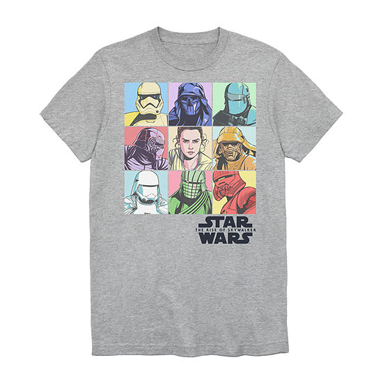 Big and Tall Mens Crew Neck Short Sleeve Star Wars Graphic T-Shirt