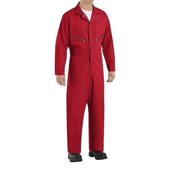 Red Kap CC18 Men's Zip-Front Cotton Coveralls - Big & Tall