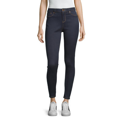 Blue Spice - Juniors Womens High Waisted Skinny Regular Fit Jean