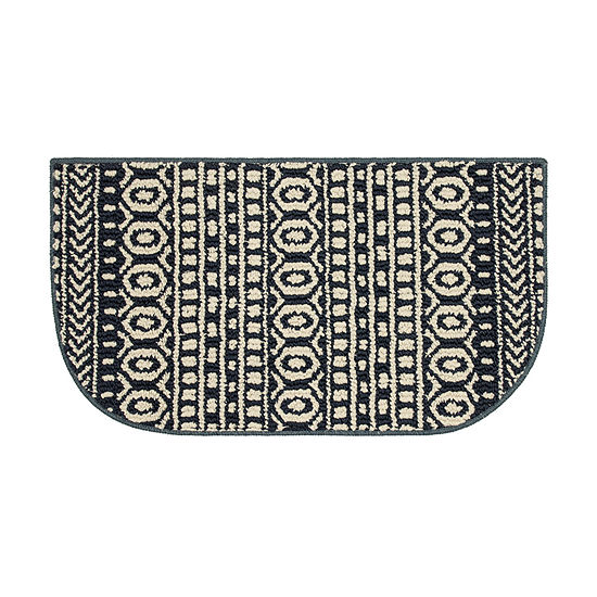 JCPenney Home Cottage Washable Wedge Indoor Kitchen Mat