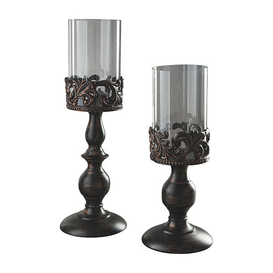 Signature Design by Ashley Constance 2-pc. Candle Holder