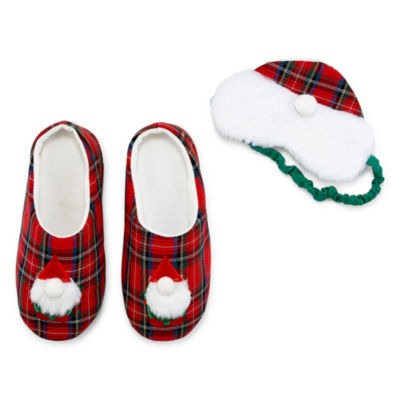 Mixit Holiday 2-pc. Eyemask and Slipper Set