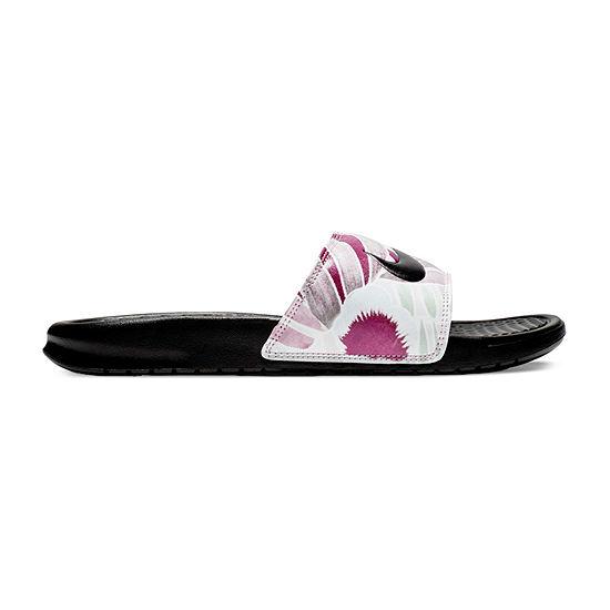 Nike Womens W Benassi Jdi Print Slide Sandals