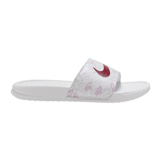 Nike Womens Benassi JDI Print Slide Sandals