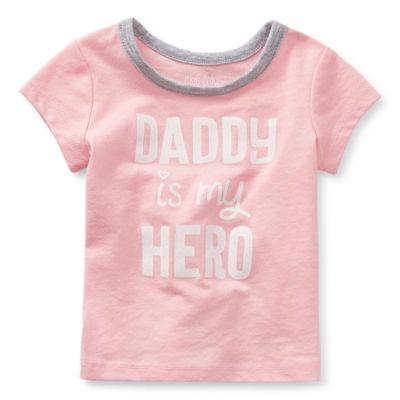 Okie Dokie-Baby Girls Short Sleeve T-Shirt