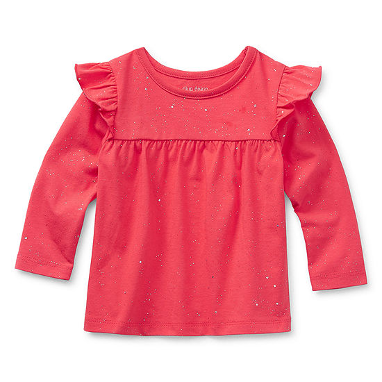 Okie Dokie-Baby Girls Long Sleeve T-Shirt