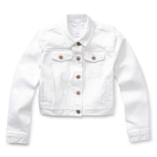 Ymi-Big Kid Girls Denim Jacket