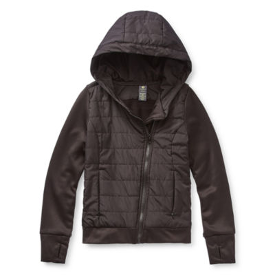 Xersion - Girls Lightweight Puffer Jacket Preschool / Big Kid