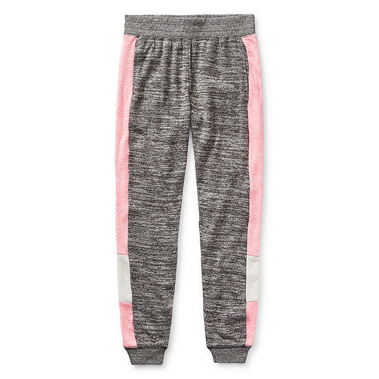 Inspired Hearts Little & Big Girls Mid Rise Straight Jogger Pant