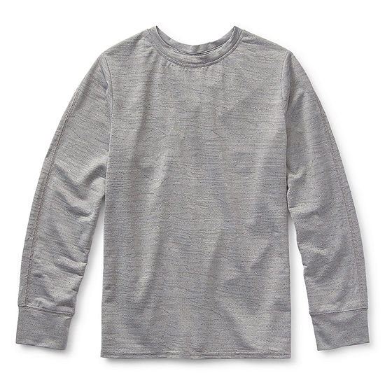 Xersion Little & Big Boys Crew Neck Long Sleeve T-Shirt