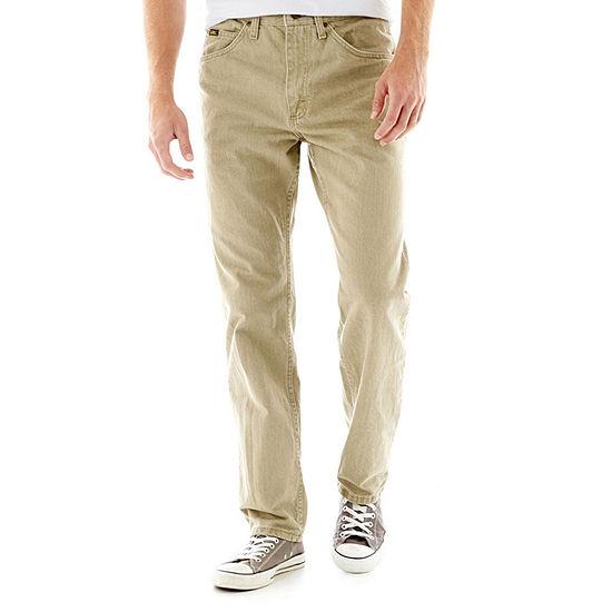 Lee® Men's Regular Fit Straight Leg Jeans