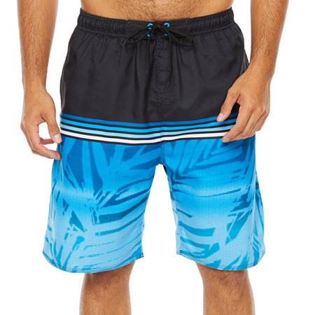 """Burnside North Shore 11 1/2"""" E-Board Shorts UPF 30, Small , Blue"""