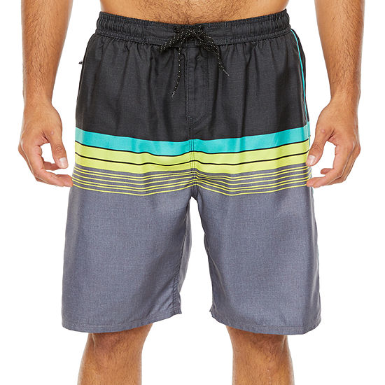 Burnside Banded Swim Trunks